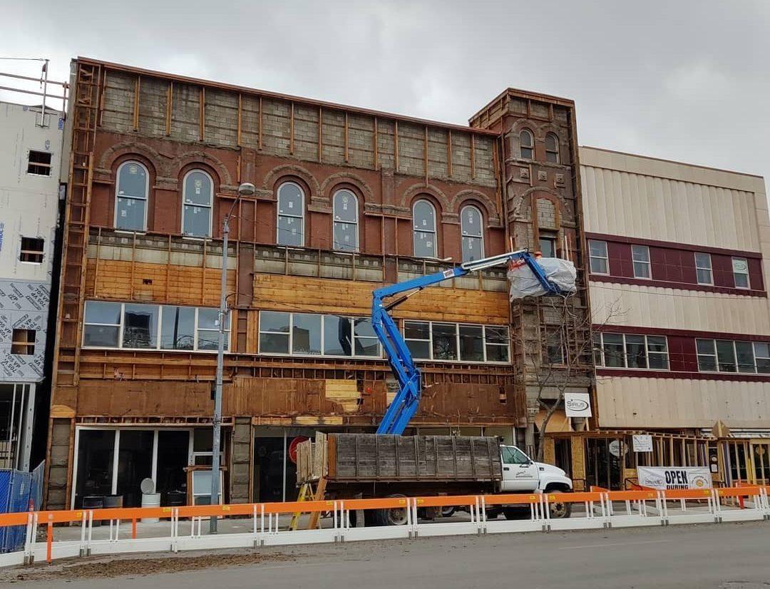 Radio Central Building Historical Renovation
