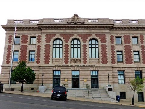 Federal Court House In Butte, Montana